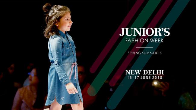 Junior's Fashion Week Spring Summer 2018 New Delhi, New Delhi, Delhi, India