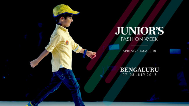 Junior's Fashion Week Spring Summer 2018 Bengaluru, Bangalore, Karnataka, India