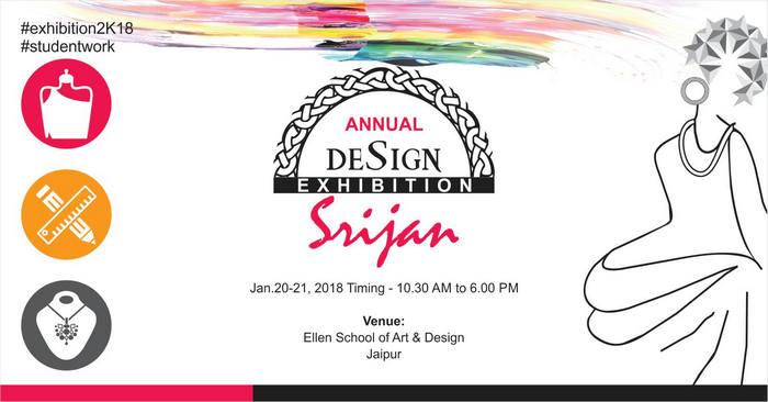 Srijan Annual Design Exhibition, Jaipur, Rajasthan, India