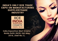 India International Cosmetic Expo 2018 in Greater Noida Delhi NCR