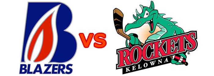 Kamloops Blazers vs. Kelowna Rockets, Kitimat-Stikine, British Columbia, Canada