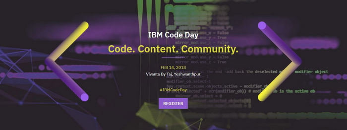 IBM Code Day, Bangalore, Karnataka, India