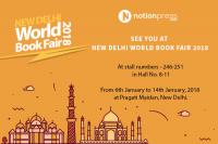 Notion Press at New Delhi World Book Fair 2018