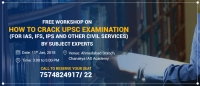 Free Workshop on How to Crack Civil Services Examination in Ahmedabad