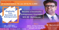 Anybody can become an Entrepreneur | Entrepreneur Workshop Mumbai
