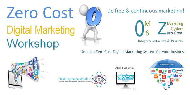 Zero Cost Digital Marketing Workshop, Pune, Maharashtra, India