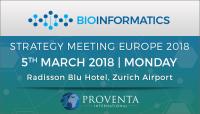 Bioinformatics Strategy Meeting Europe 2018