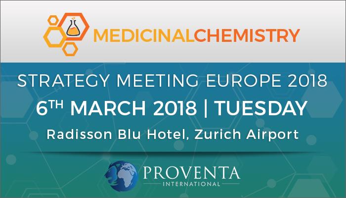 Medicinal Chemistry Strategy Meeting Europe 2018, Rondellstrasse, Zürich, Switzerland
