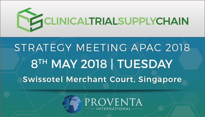 Clinical Trial Supply Chain Strategy Meeting 2018, Singapore, Central, Singapore