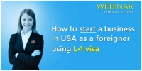 Free Webinar: How To Start A Business In USA As A Foreigner Using L-1 Visa