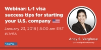 Free Immigration Webinar: How To Start A New Office In USA Using L-1 Visa
