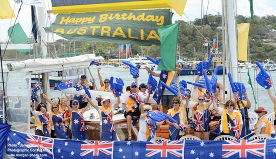 Australia Day Lunch Cruises on Sydney Harbour, Sydney, New South Wales, Australia