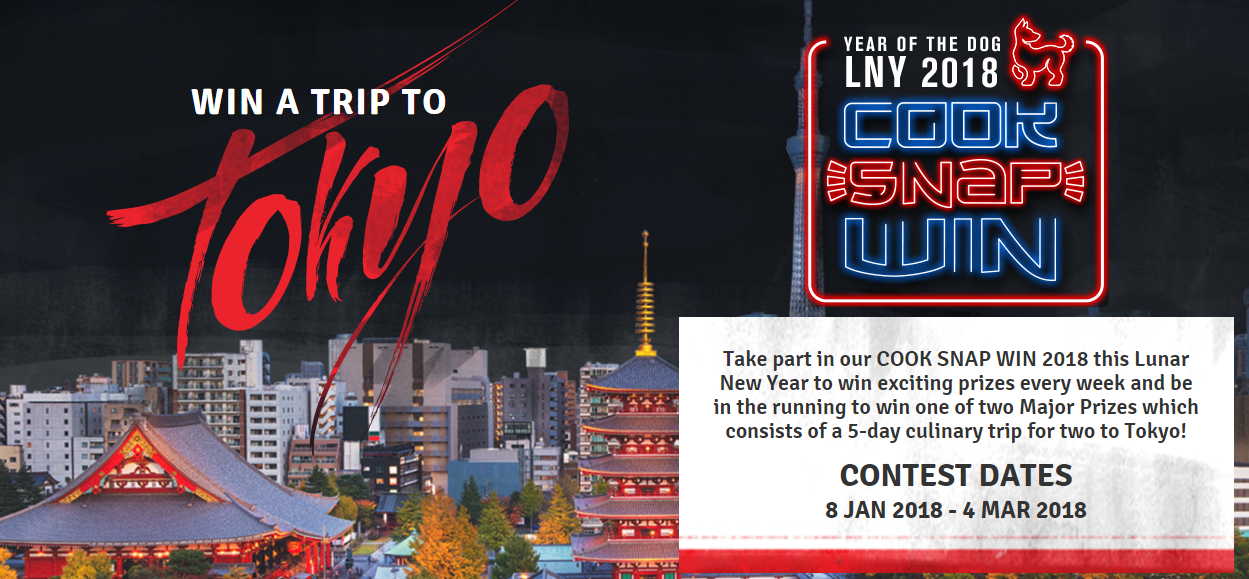 Win 1 of 2 Trips for Two to Tokyo or Weekly Prizes from Asian Inspirations [Purchase 2 Products, Create a Recipe and Upload Pic], Melbourne, Victoria, Australia
