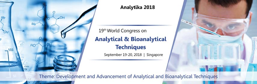 19th World Congress on Analytical and Bioanalytical Techniques, Singapore