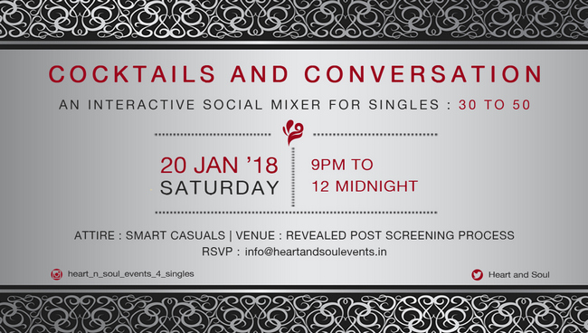Cocktails and Conversations, Mumbai, Maharashtra, India