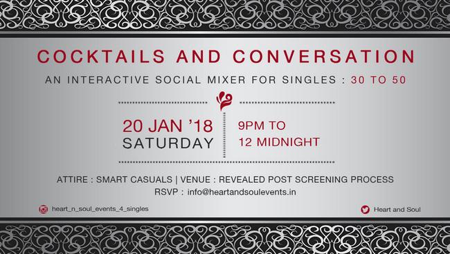 Cocktails and Conversations, Mumbai, Maharashtra, India