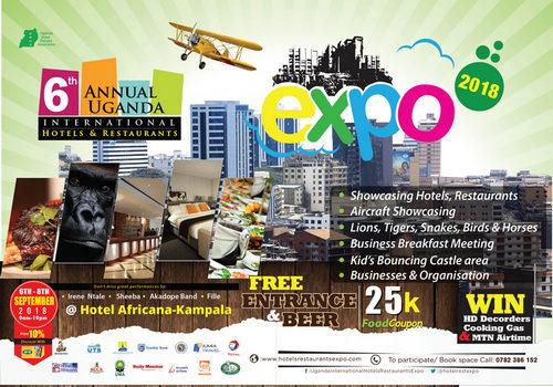 6th Annual Uganda International Hotels and Restaurants Expo, Kampala, Central, Uganda
