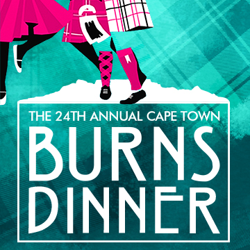 The 24th Annual Cape Town Burns Dinner, Cape Town, Western Cape, South Africa