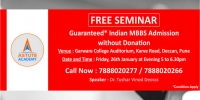 Guaranteed* Indian MBBS Admission 2018 without donation