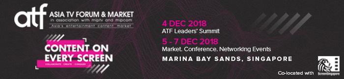 ATF- Asia TV Forum & Market, Central, Singapore