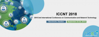 2018 2nd International Conference on Communication and Network Technology (ICCNT 2018)