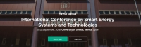 2018 International Conference on Smart Energy Systems and Technology (SEST 2018)