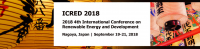 2018 4th International Conference on Renewable Energy and Development (ICRED 2018)--IEEE, Ei Compendex and Scopus