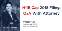 FREE Webinar: H-1B Cap 2018 Filing: Q&A With Attorney
