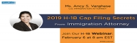 FREE Webinar: 2019 H1B Cap Filing Secrets From Immigration Attorney