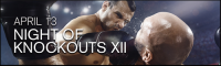 Night of Knockouts XII- Live Professional Boxing