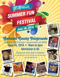 Lift Up Atlanta's 2018 Summer Fun Festival