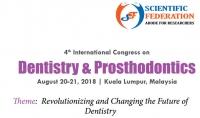4th International Congress on Dentistry & Prosthodontics