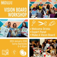 Millennial Mentors | Vision Board Workshop
