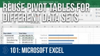 Creating Pivot Tables 101 in Microsoft Excel