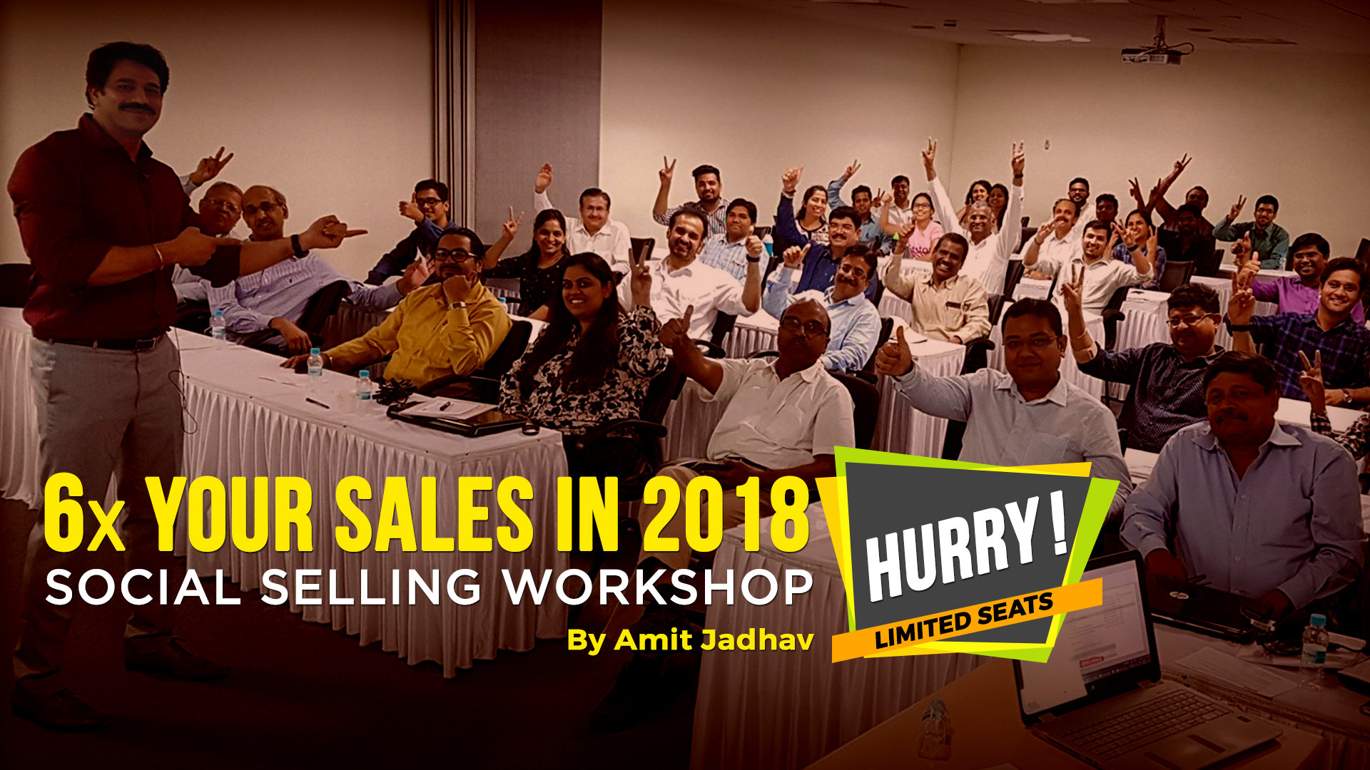 Social Selling Workshop By Amit Jadhav, Pune, Maharashtra, India