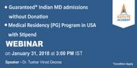 Guaranteed* India andUSA MD admissions