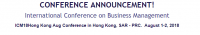 International Conference on Business Management
