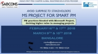 MS Project Training 09th & 10th March 2018
