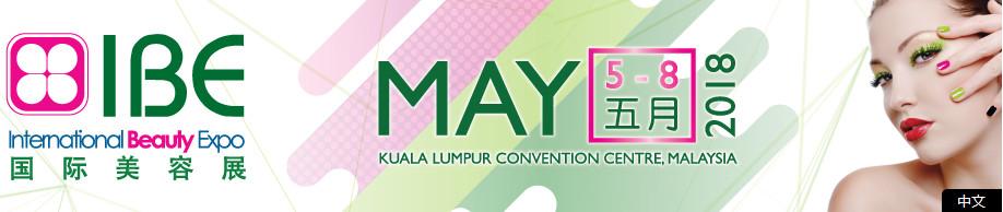 International Beauty Expo (IBE) 2018, KLCC, Kuala Lumpur, Malaysia