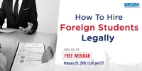 FREE Webinar: How To Hire Foreign Students