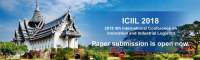 2018 4th International Conference on Innovation and Industrial Logistics (ICIIL 2018)+EI Compendex, Scopus