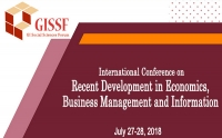 International Conference on Recent Development in Economics, Business Management and Information Technology (RDEBMIT-2018)