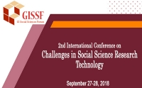 2nd International Conference on Challenges in Social Science Research (CSSR-2018)