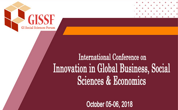 International Conference on Innovation in Global Business, Social Sciences & Economics (IGBSSE-2018), Seoul, South korea
