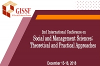 2nd International Conference on Social and Management Sciences; Theoretical and Practical Approaches (SMSTPA-2018)