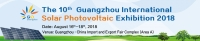 The 10th Guangzhou International Solar Photovoltaic Exhibition 2018  (PV Guangzhou 2018)