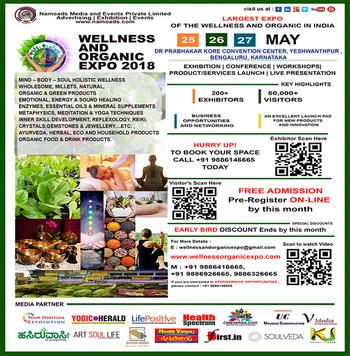 Wellness and Organic Expo - 2018, Bangalore, Karnataka, India
