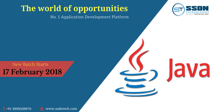 Java Course in Delhi | Java Certification Training Delhi – SSDN technologies, Gurgaon, Haryana, India