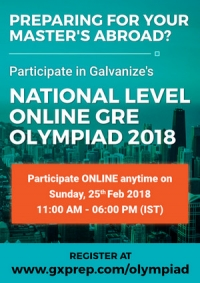 National Level Online GRE Olympiad