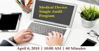 Medical Device Single Audit Program Preparation